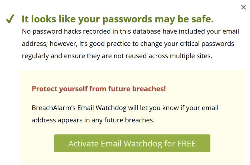 Breach-Alarm-check-safe
